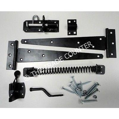 Garden Gate Hinge & Hardware Kit - Side Gate Kit| TTCWM