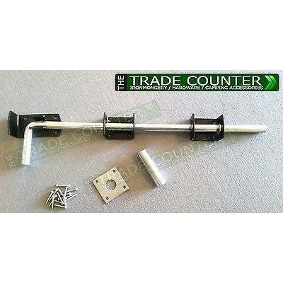 "Drop Bolt - Gate / Garage Door Bolt 18"" / 450mm 
