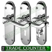 Internal Door Handles - Lock Latch Bathroom Sets | TTCWM