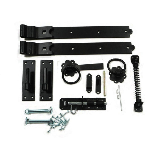 Gate Kit - Single - Black Or Galv