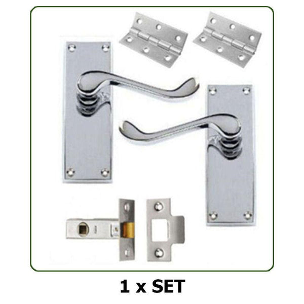 Interior Door Handles - Scroll Lever Latch | TTCWM