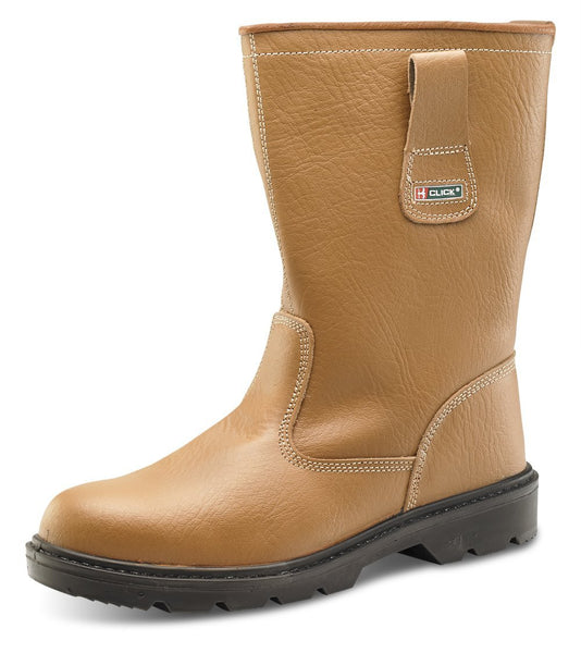 Work Boots - Rigger Site Work Boot - Blackrock