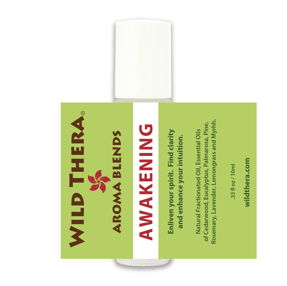 Aromatherapy roll on blend for clarity focus intuition and perception