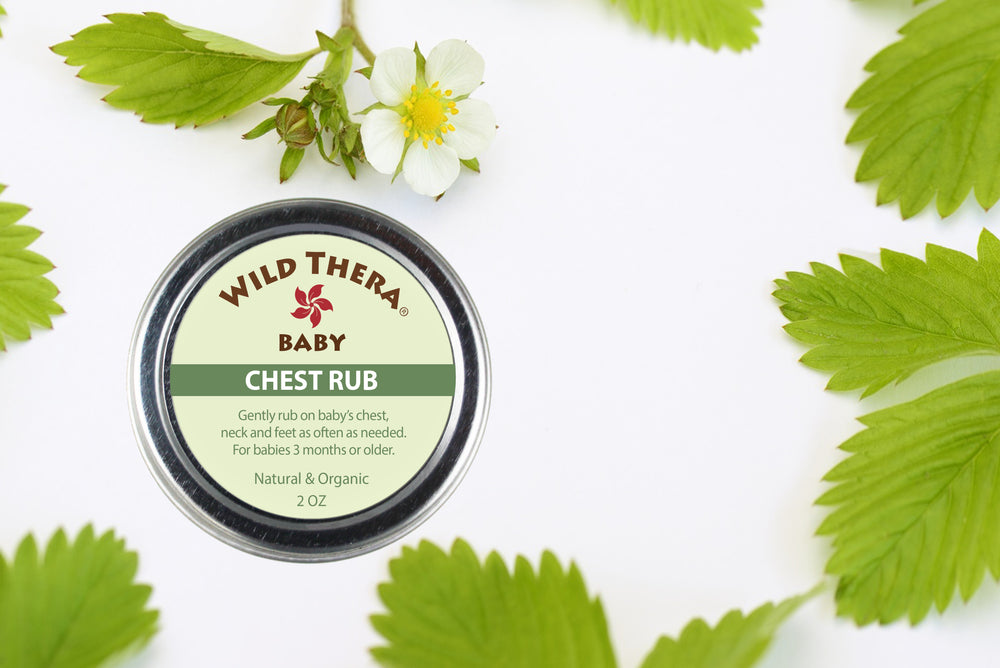 Herbal baby Vicks Rub for Chest Congestion & Nasal Congestion