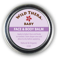 Organic Baby Cream for Rash Baby Face Cream Multipurpose Baby Balm Burt's Bees Earth mama