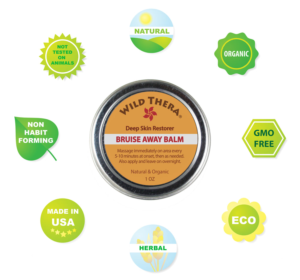 Natural Organic Bruise Healing Cream with Arnica & Turmeric