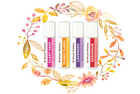 Aroma Basics Roll On Set of 4 - Floral Set