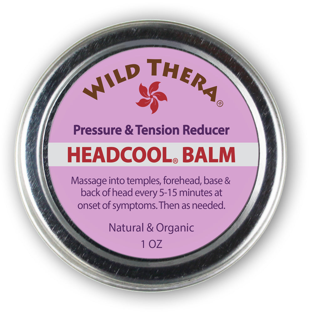 Headache and Stress Balm &  Pillow Set
