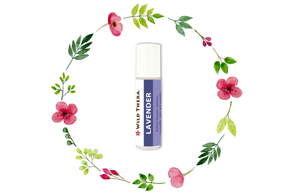 Aromatherapy roll on Lavender Roll On for sleep, relaxation, meditation