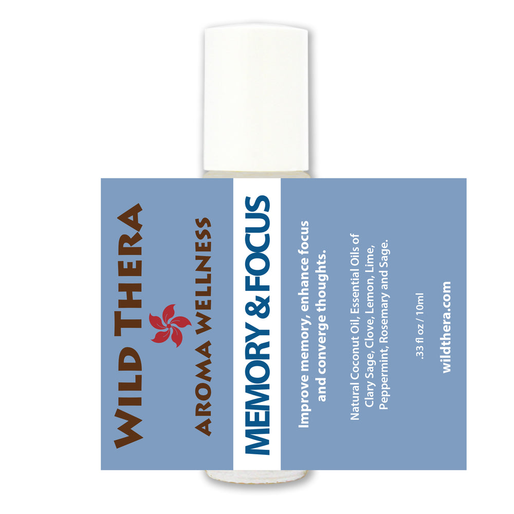 Memory & Focus - Aroma Wellness Roll On