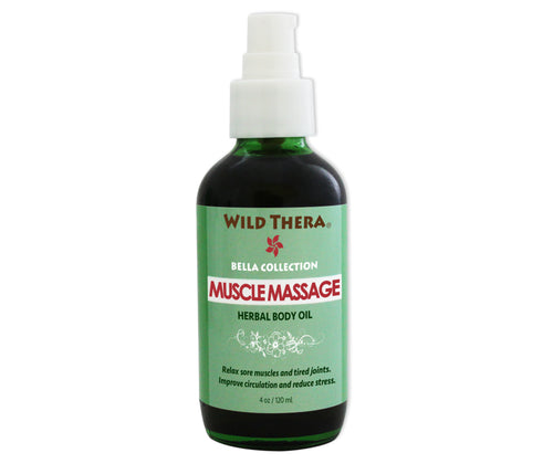 Muscle Massage Body Oil