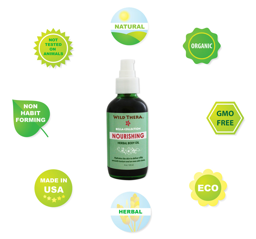 Organic Herbal Massage Oil Fractionated Organic Coconut, Almond, Olive, Sunflower for Moisturizing, Skin repair, healing, Eczema, Psoriasis. Bio Oil with Burt's Bees, Majestic Pure, Hydrating Oil.