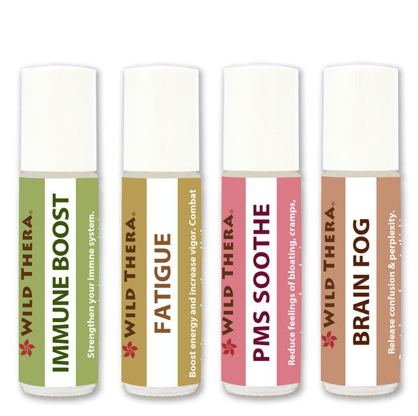 Aroma Wellness Roll On Set of 4 - PMS Support