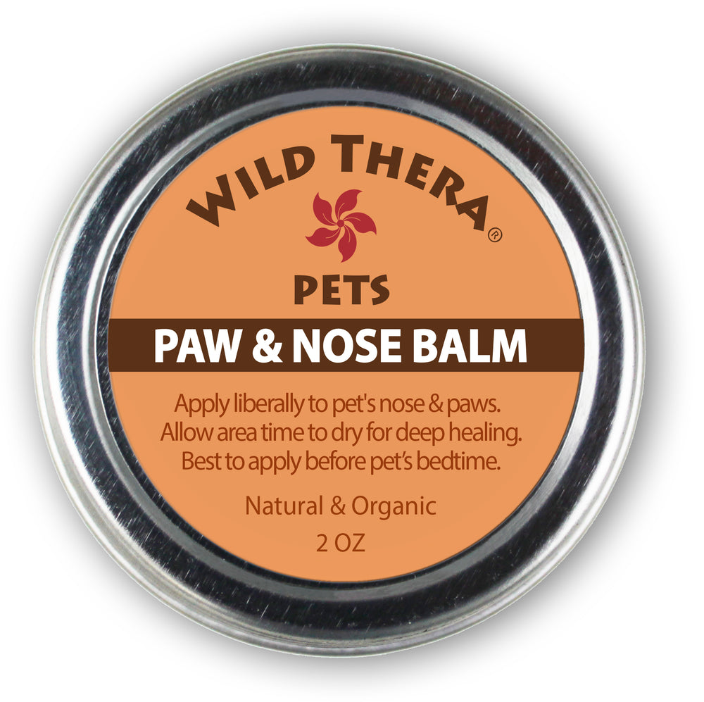pet paw care dry paws chapped nose dry snout