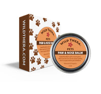 paw and snout care, chapped nose, dogs & cats, dry paws