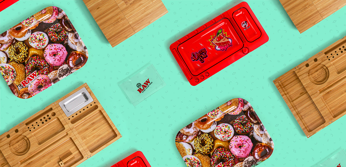 The Best Rolling Trays Blog Header