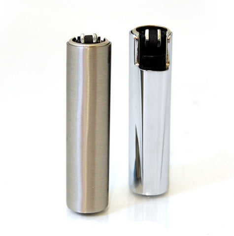 Metal Cased Clipper Lighter