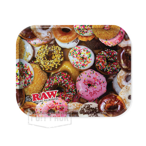 RAW Donuts Rolling Tray