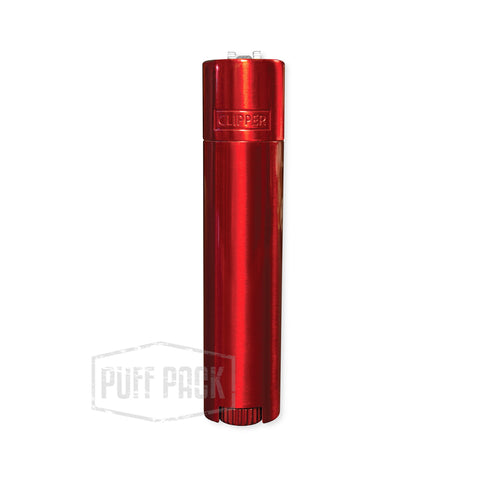 Clipper Full Metal Red Lighter
