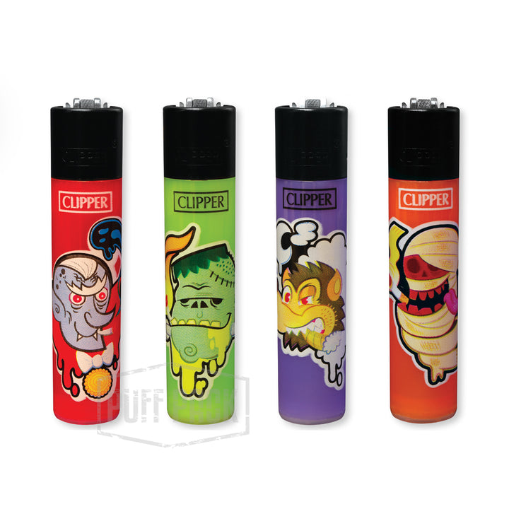 Clipper Smoking Monster Lighters