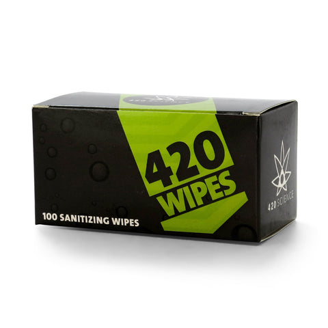 420 Cleaning Wipes