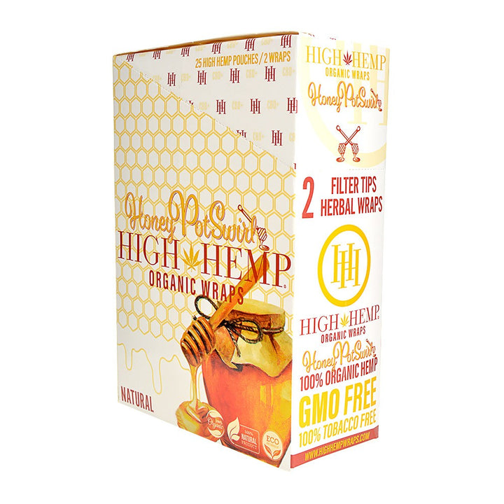 High Hemp Wraps - Honey