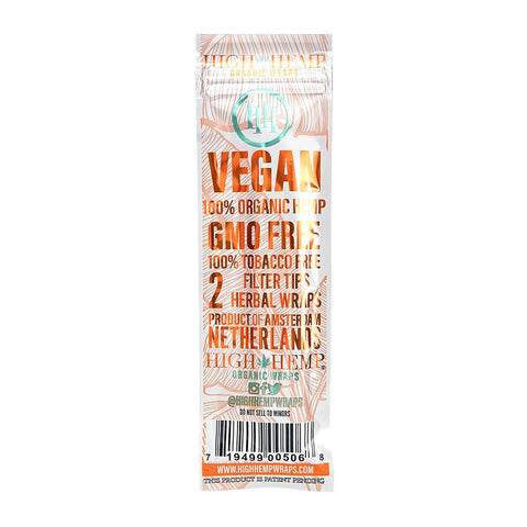 High Hemp Wraps - Mango