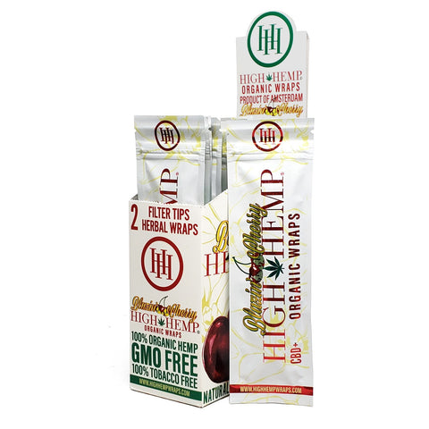 High Hemp Blazin' Cherry Wraps