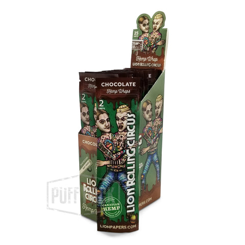 Lion Rolling Circus Chocolate Hemp Wraps