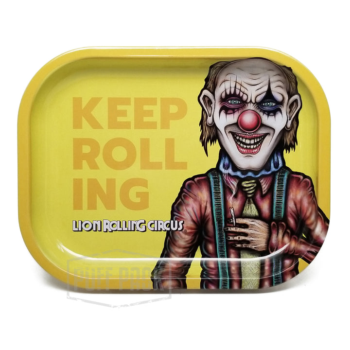 "Lion Rolling Circus Mini Tray ""Edgar Allan"" Horizontal"