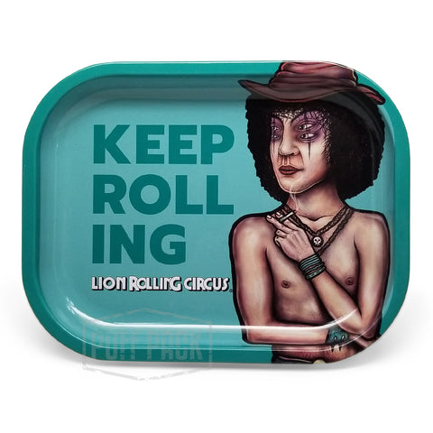 "Lion Rolling Circus Mini Tray ""Rubi"" Horizontal"