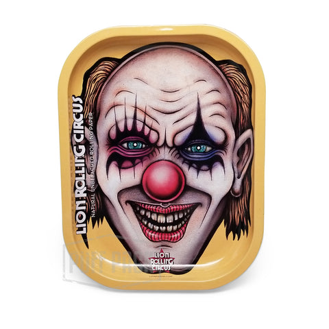 "Lion Rolling Circus Mini Tray ""Edgar Allan"" Vertical"