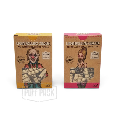 Lion Rolling Circus Pre-Rolled Tips