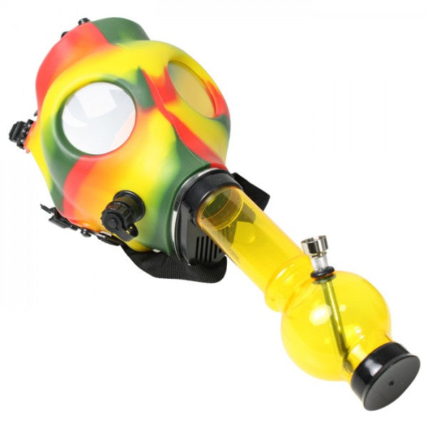 (Mart) Gas Mask with Water Pipe