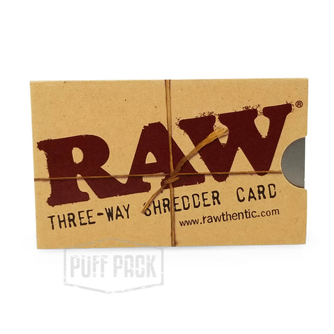 RAW Three-Way Shredder Card