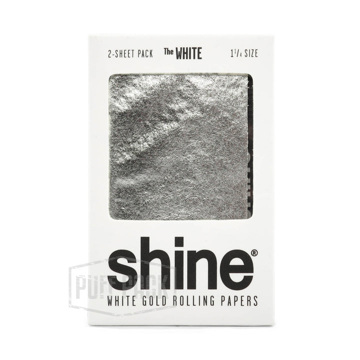 Shine White Gold 1 1/4 2 Pack Rolling Papers