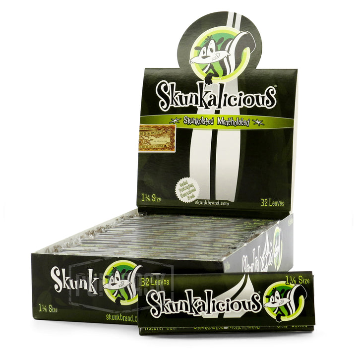 Skunk 1 1/4 Mentholated Rolling Papers