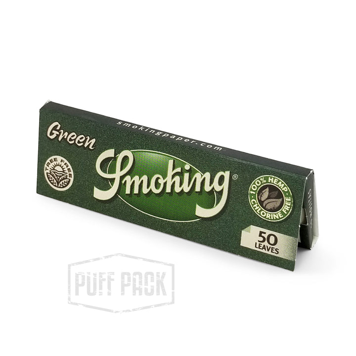 Smoking Green 1 1/4 Rolling Papers