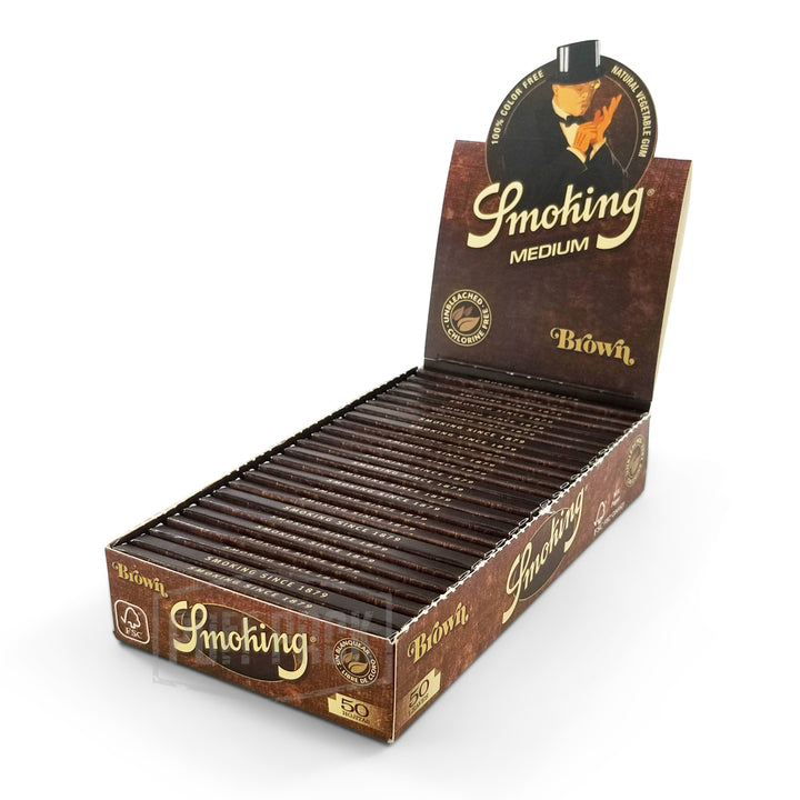 Smoking Brown 1 1/4 Rolling Papers