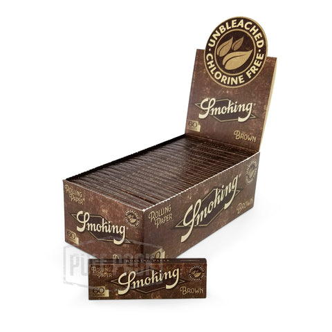 Smoking Brown Single Wide Rolling Papers