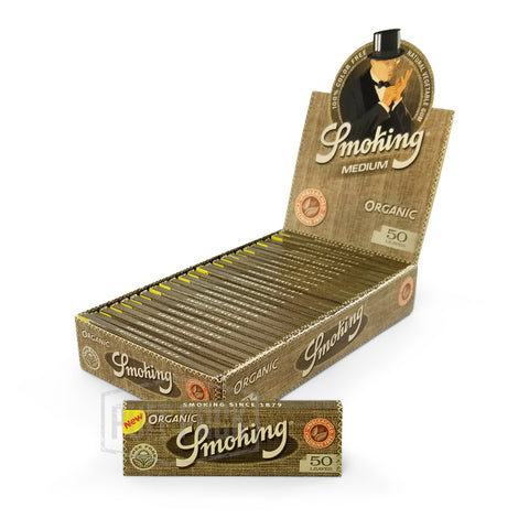 Smoking Organic 1 1/4 Rolling Papers