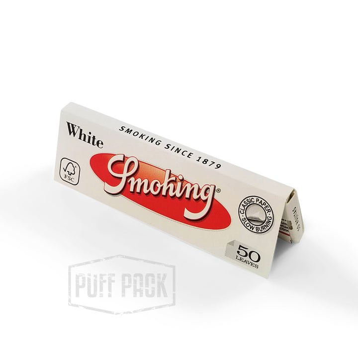 Smoking White 1 1/4 Rolling Papers