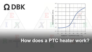 How does a PTC heater work?