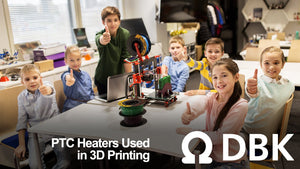 How are PTC heaters used in 3D Printing?