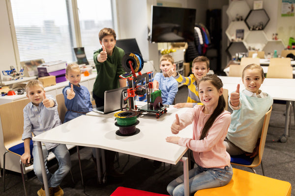 3D Printing at School - 3D Printing is Growing Up