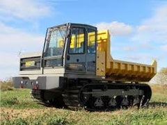 rubber tracks - pipeline carrier vehicle