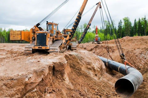 pipelayers and sidebooms
