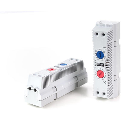 Dual Adjustable Thermostat: 2 x NC -10 to +50°C - DBKUSA.com