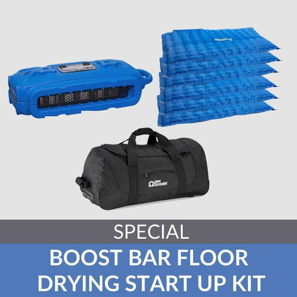 Boost Bar Floor Drying Start Up Kit - DBK USA