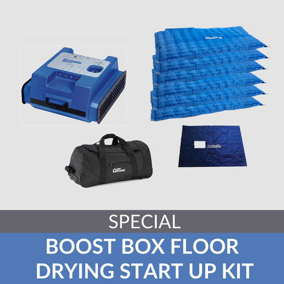 Boost Box Floor Drying Start Up Kit - DBKUSA.com